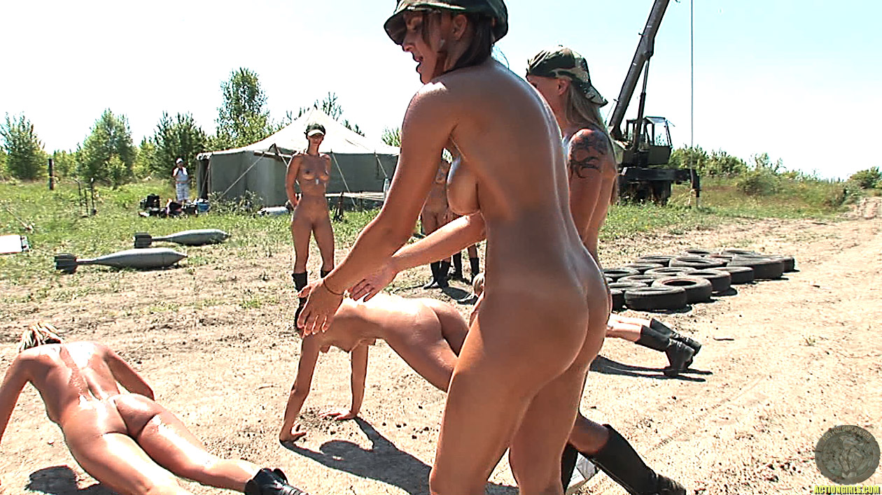 girls boot camp naked