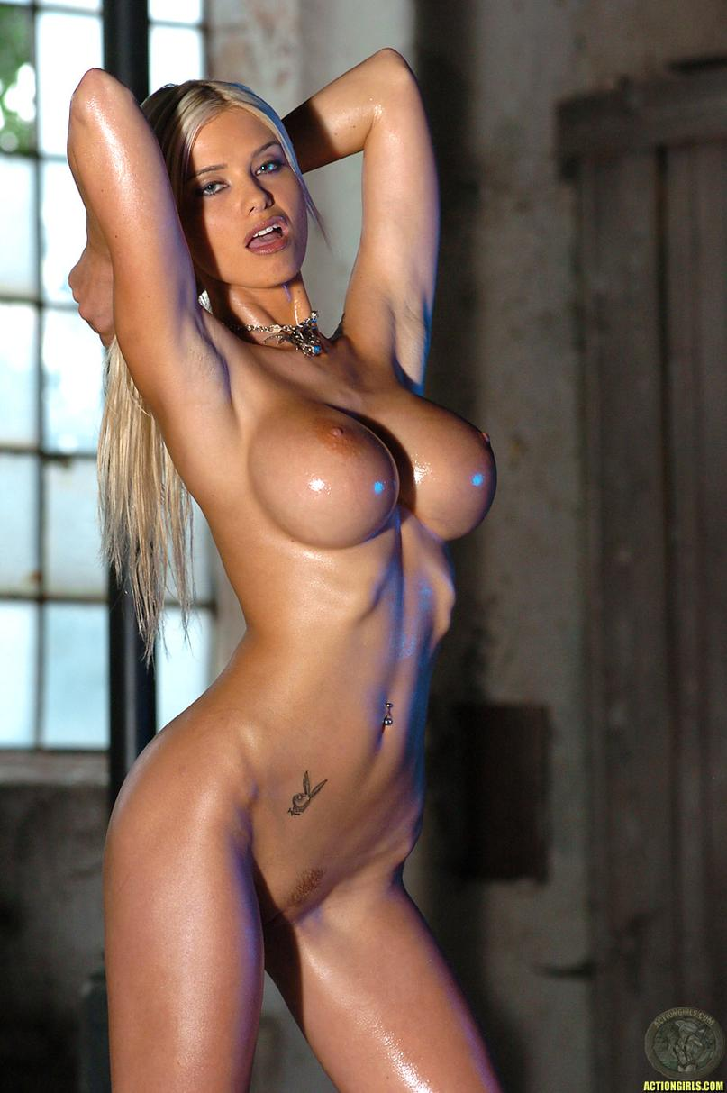 hot playboy naked oiled